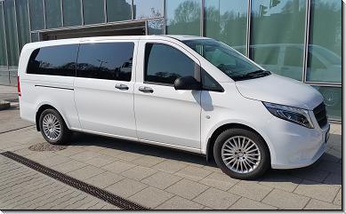 Mercedes Vito 9 fős minibusz bérlés