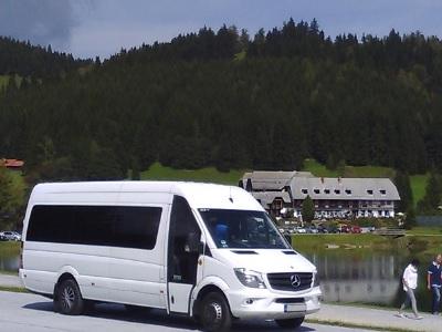 Mercedes Sprinter buszos utazás