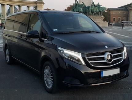 Mercedes V osztály bérlés sofőrrel
